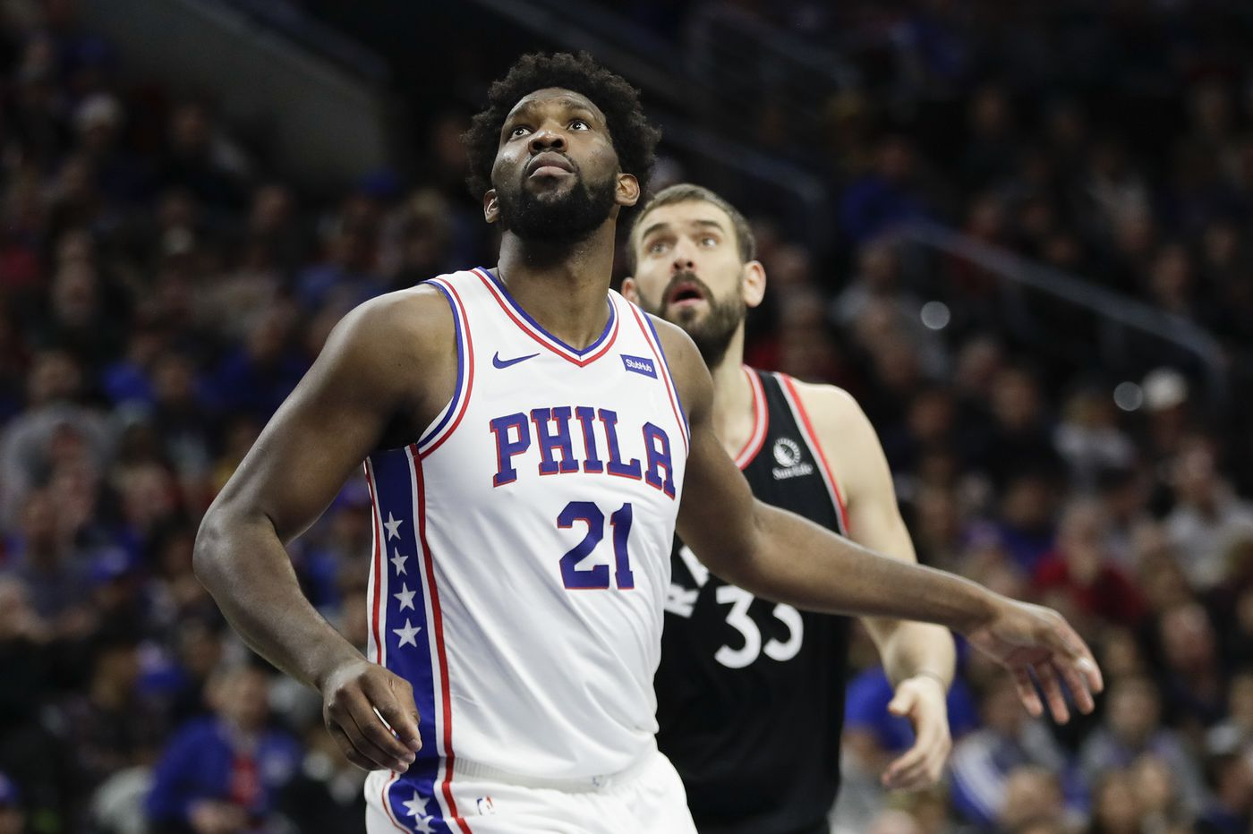 Joel Embiid agrees with Charles Barkley's and Shaq's critique of his play