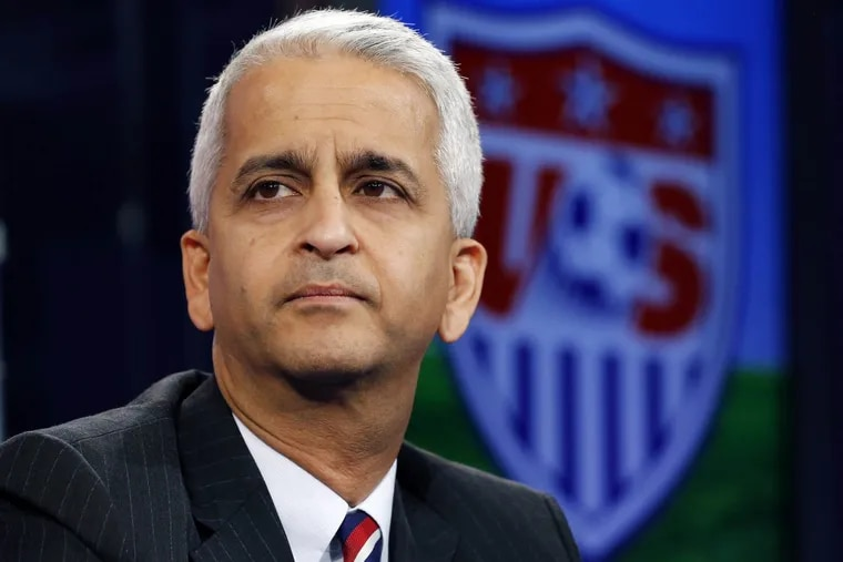 United States Soccer Federation president Sunil Gulati.