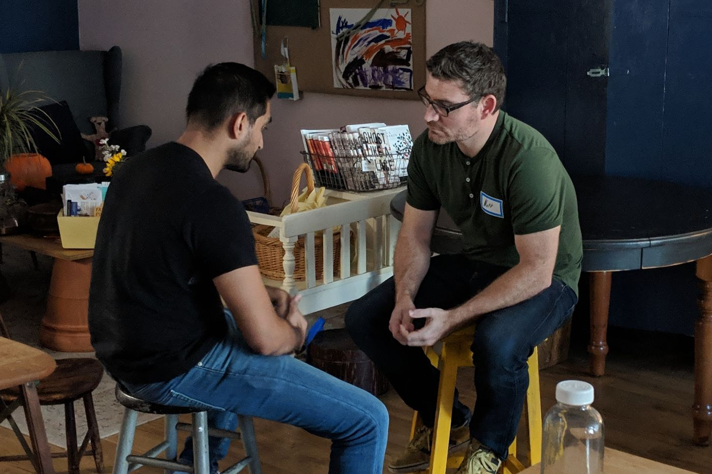 'Authentic relating': A new way of getting to know strangers in Philadelphia
