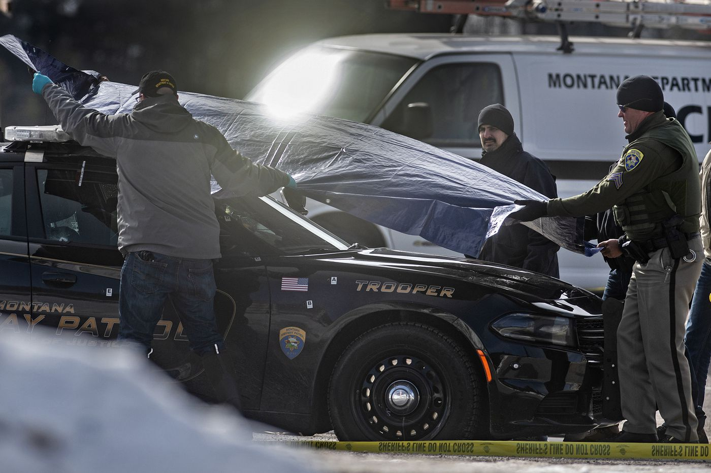 Montana shootings leave 1 dead, trooper and 2 others wounded