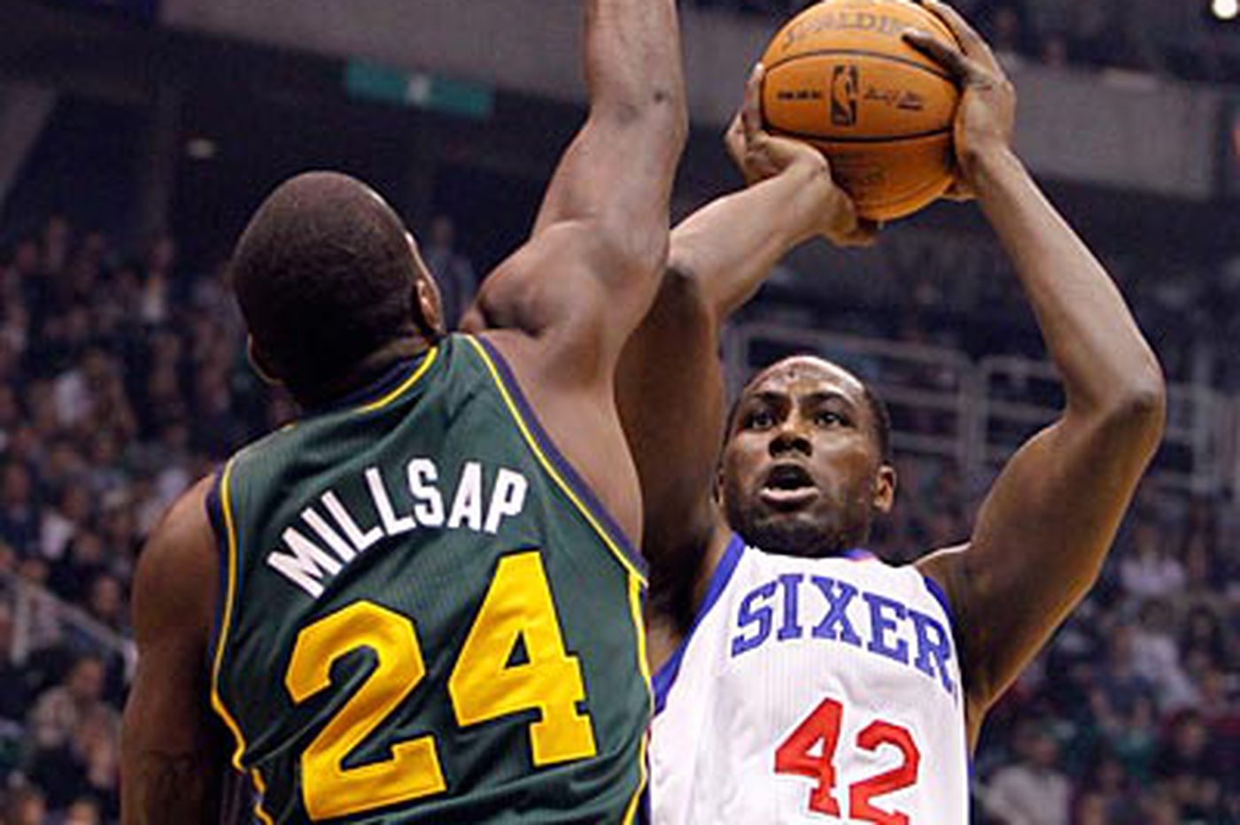 Sixers falter against Jazz and lose, 102-99