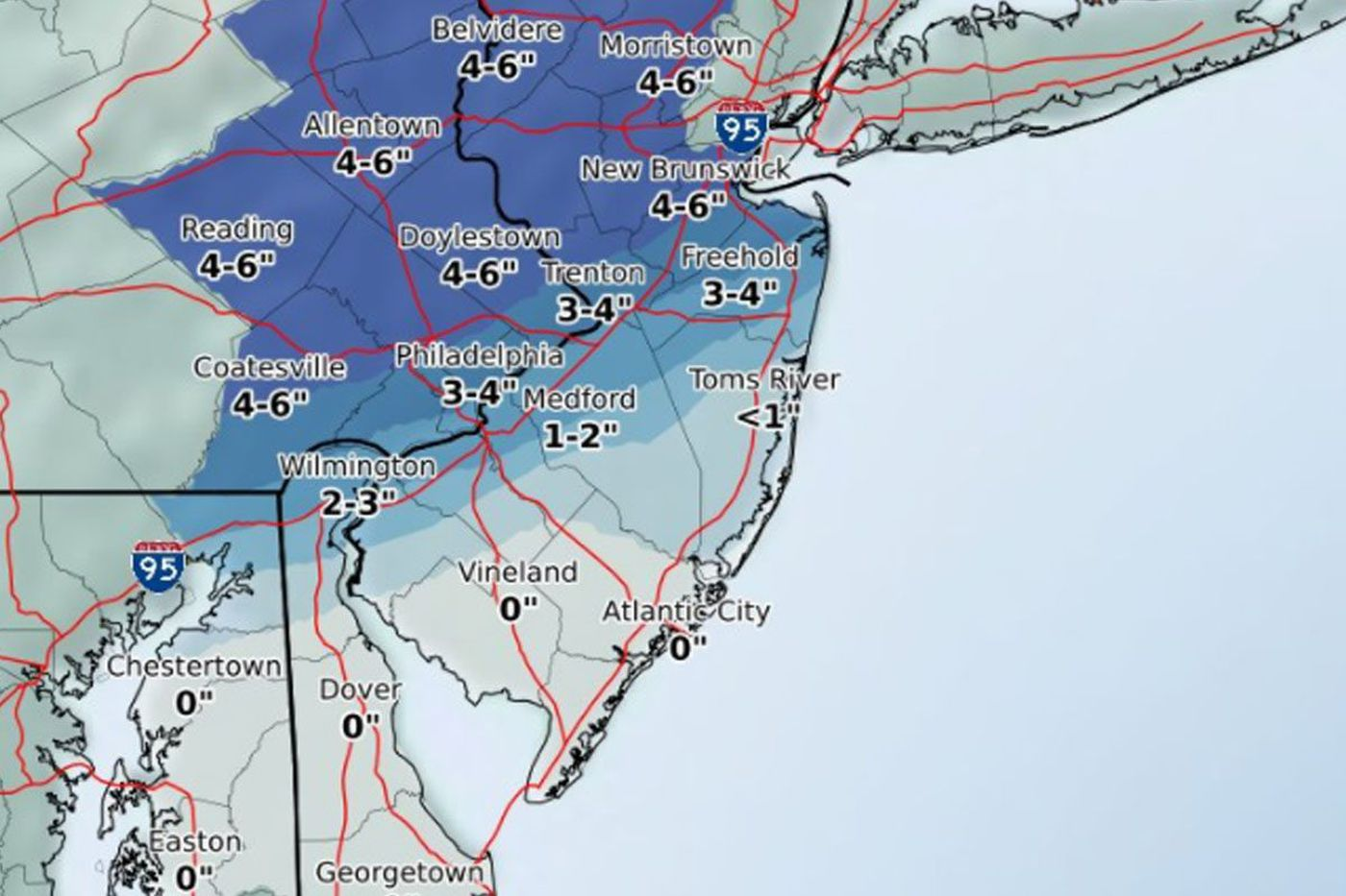 After snowfall, record-breaking warmth could be on the way