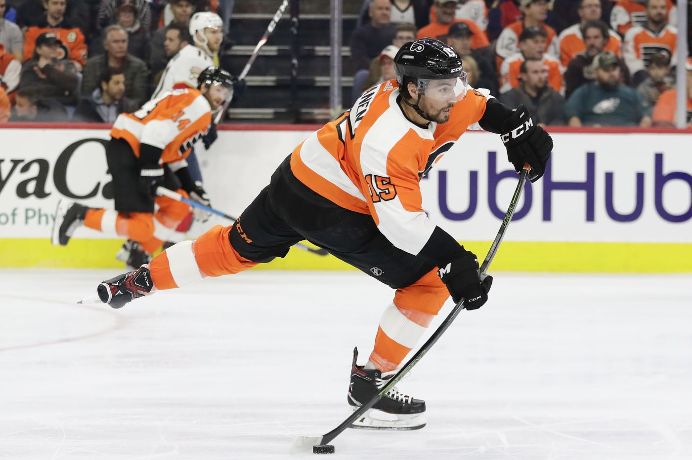 The Flyers have a big advantage, and a lighter burden, as they prepare for the playoffs | Mike Sielski