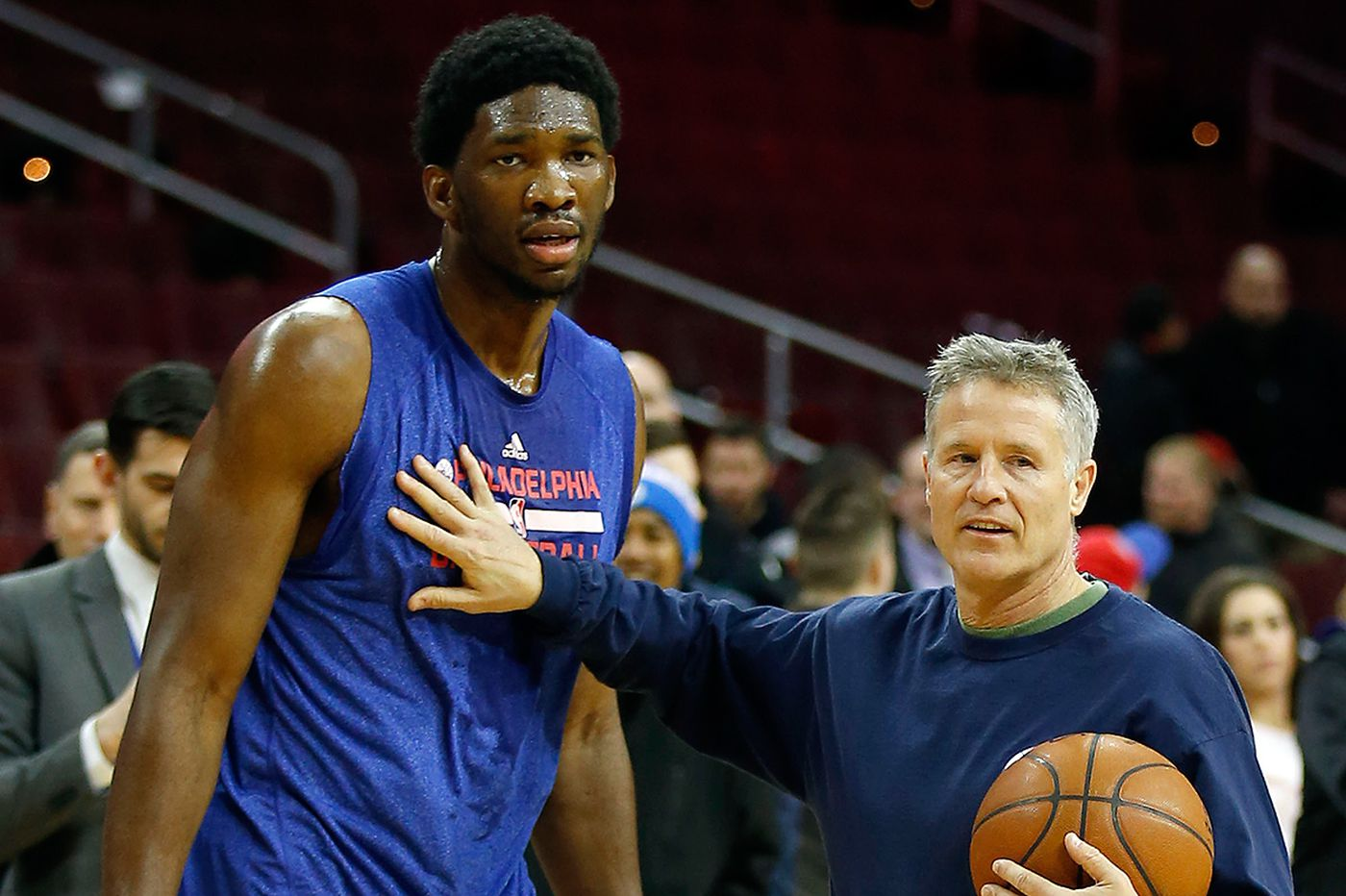 Brett Brown: Joel Embiid is 'committed' now