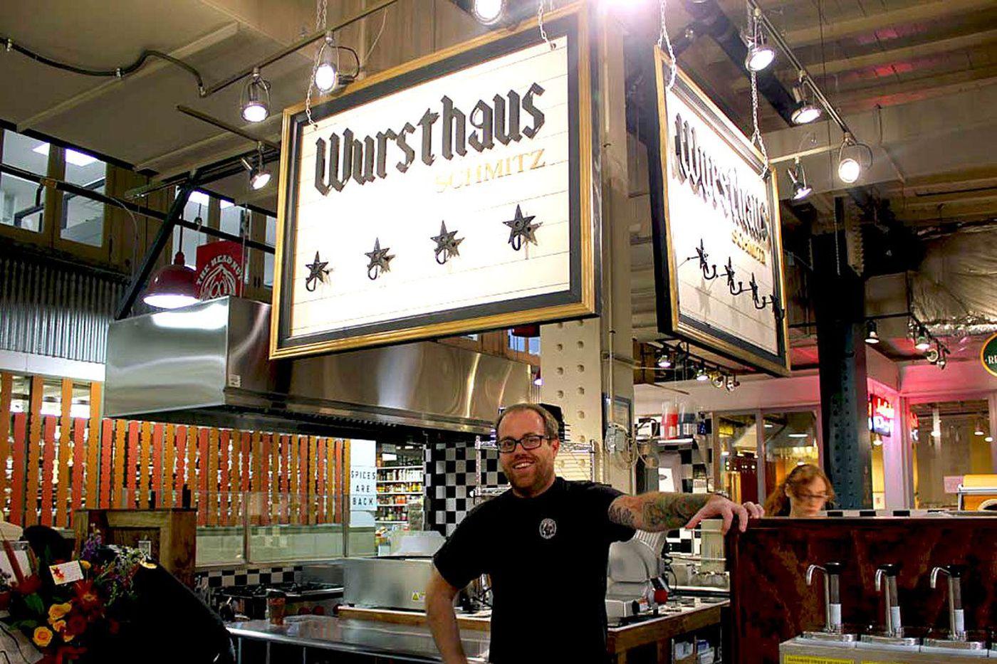 Wursthaus Schmitz at Reading Terminal Market to close