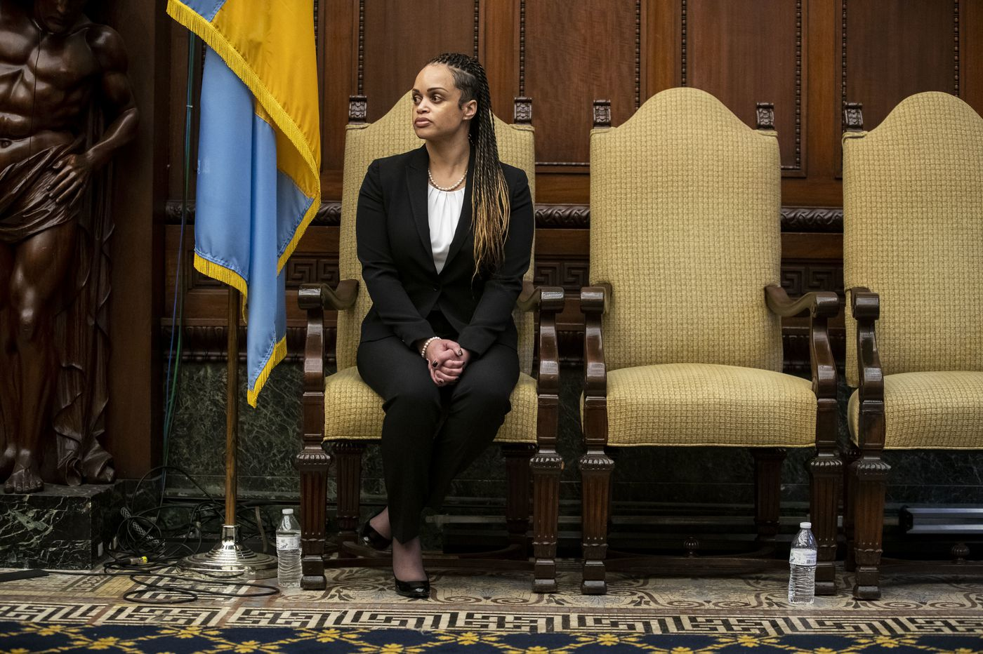 Will Commissioner Danielle Outlaw bring the radical change that Philadelphia Police needs? Fingers crossed.   Editorial