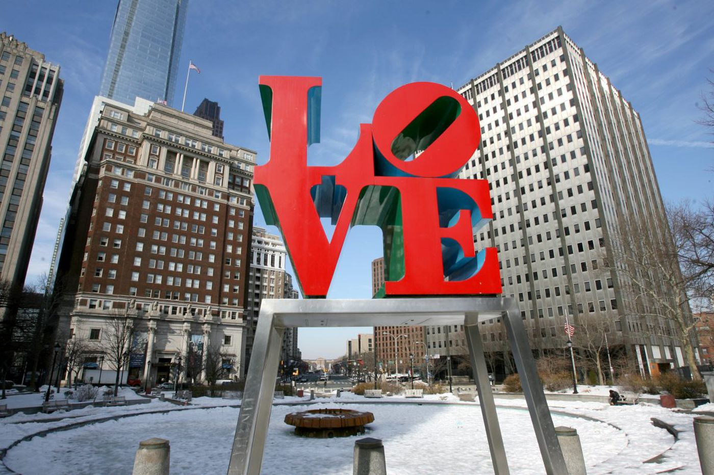 LOVE sculpture to return in time for Valentine's Day