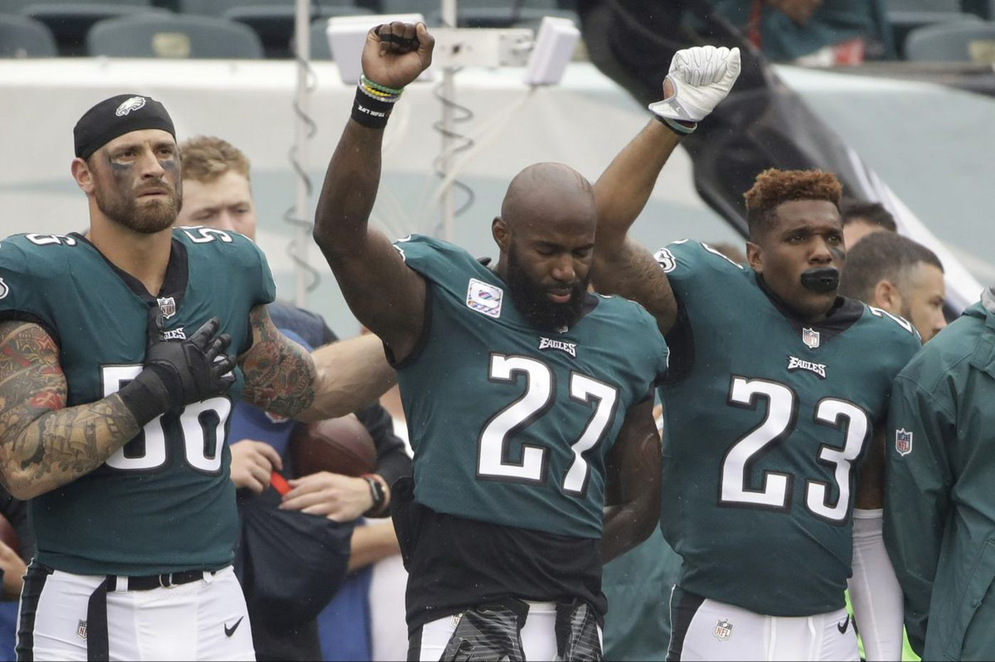 Malcolm in the middle: Eagles' Jenkins defends his role in talks to end NFL protests