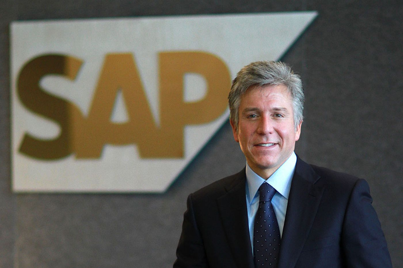 SAP CEO is telling a winner's story