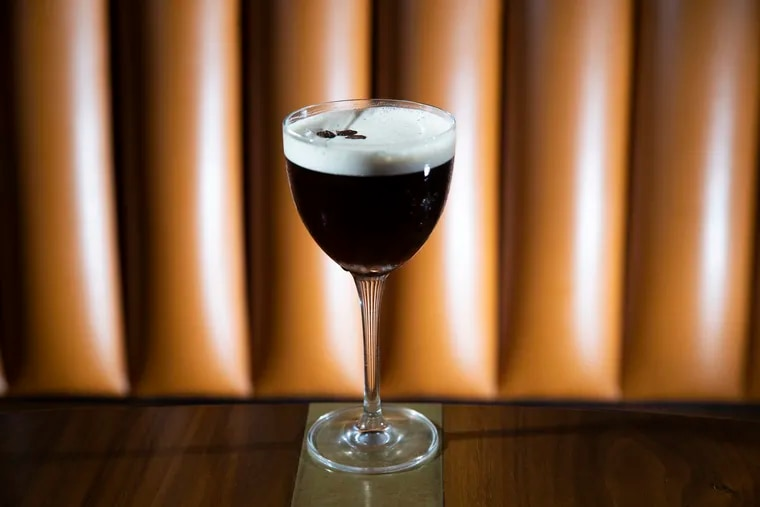 The espresso martini at R&D Cocktail Lounge on Frankford Ave.
