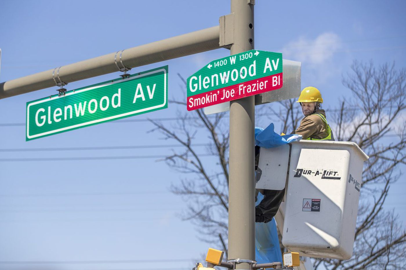 North Philly street named to honor Joe Frazier