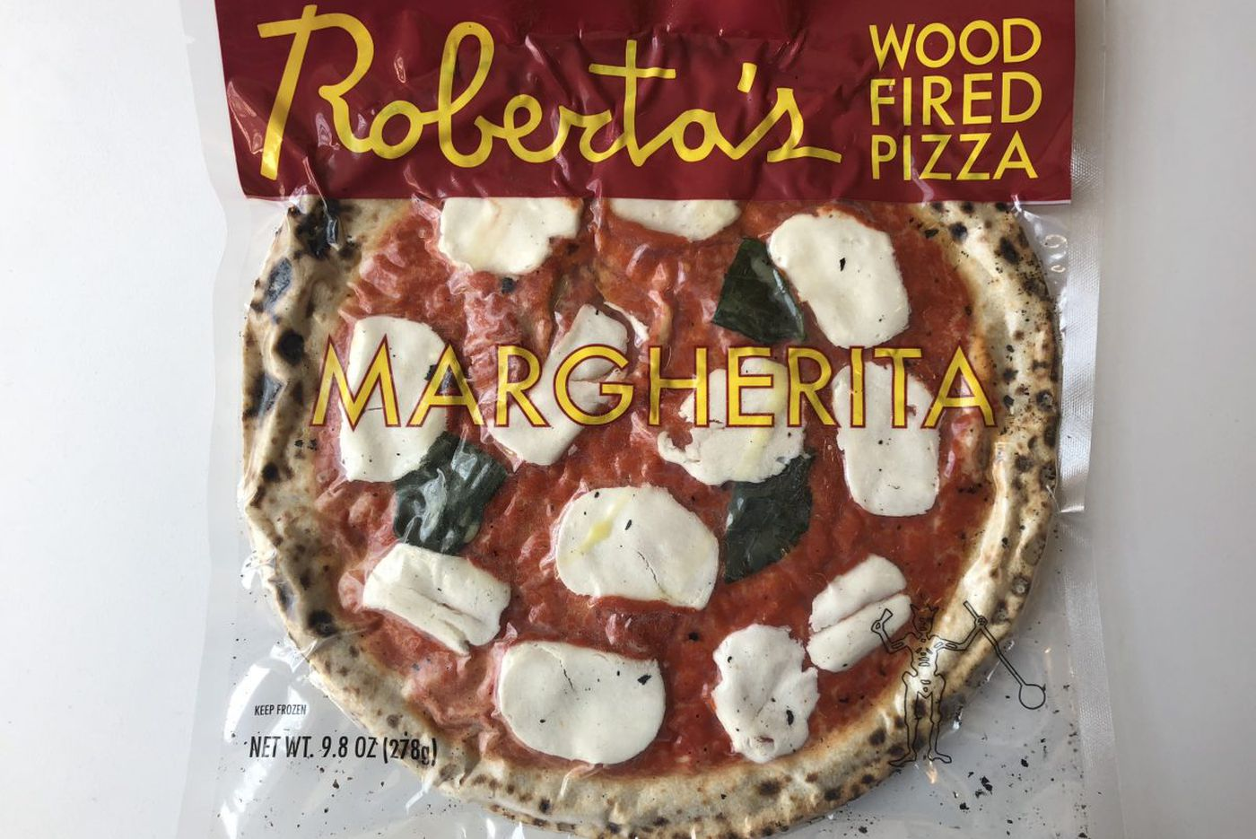 Pizza from Brooklyn, ready in six minutes