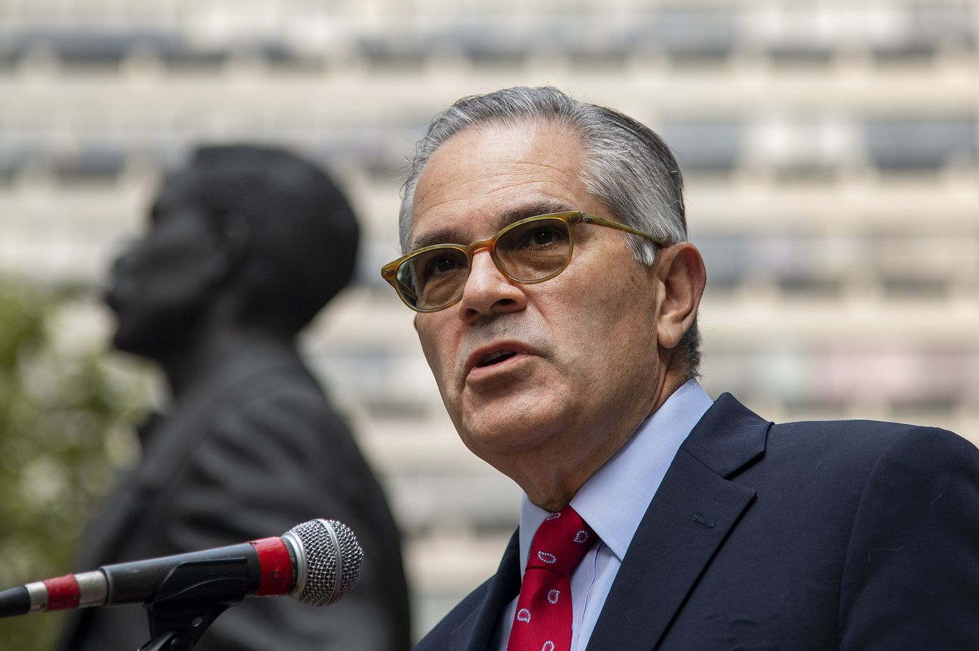 Philly DA Larry Krasner is ready for his close-up, just in time for reelection