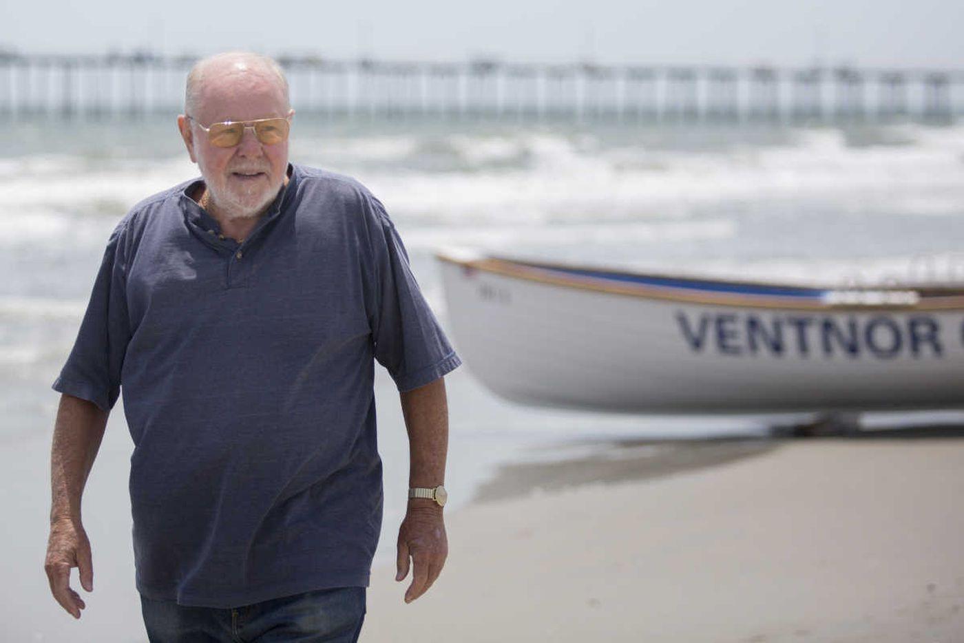 Have you met Chuck? The Schmoozer, the mayor, the duke of Dorset beach