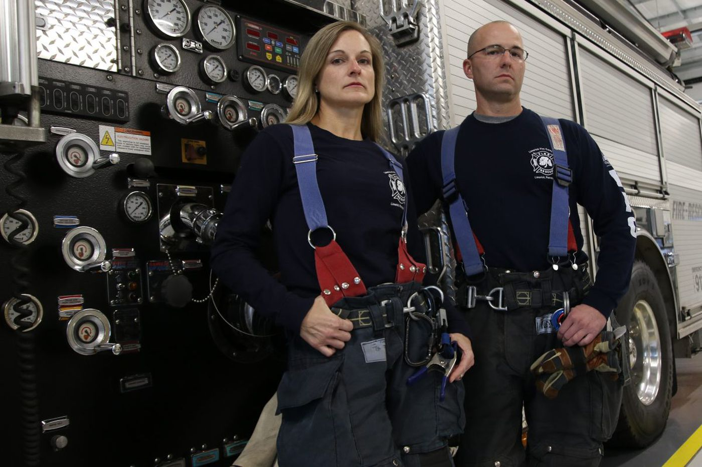 Heart disease kills firefighters. This one is also a scientist, and she is fighting back.