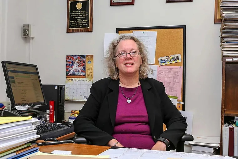 """Sharon Dietrich says newly enacted legislation in Pennsylvania letting people ask the courts to seal their criminal records for minor crimes is """"a good start,"""" but """"it is just the first step."""""""