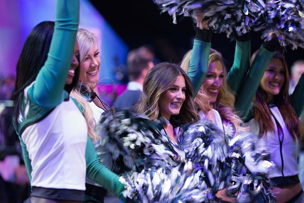 Kyle Tanguay named Eagles' first male cheerleader in over three decades
