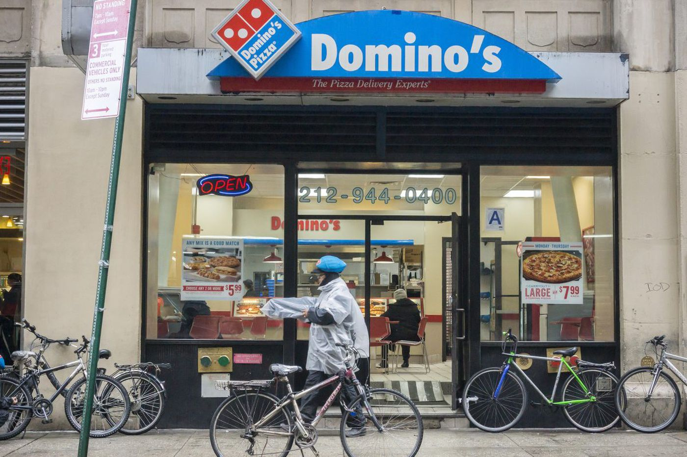 Domino's experimenting with driver-less pizza delivery