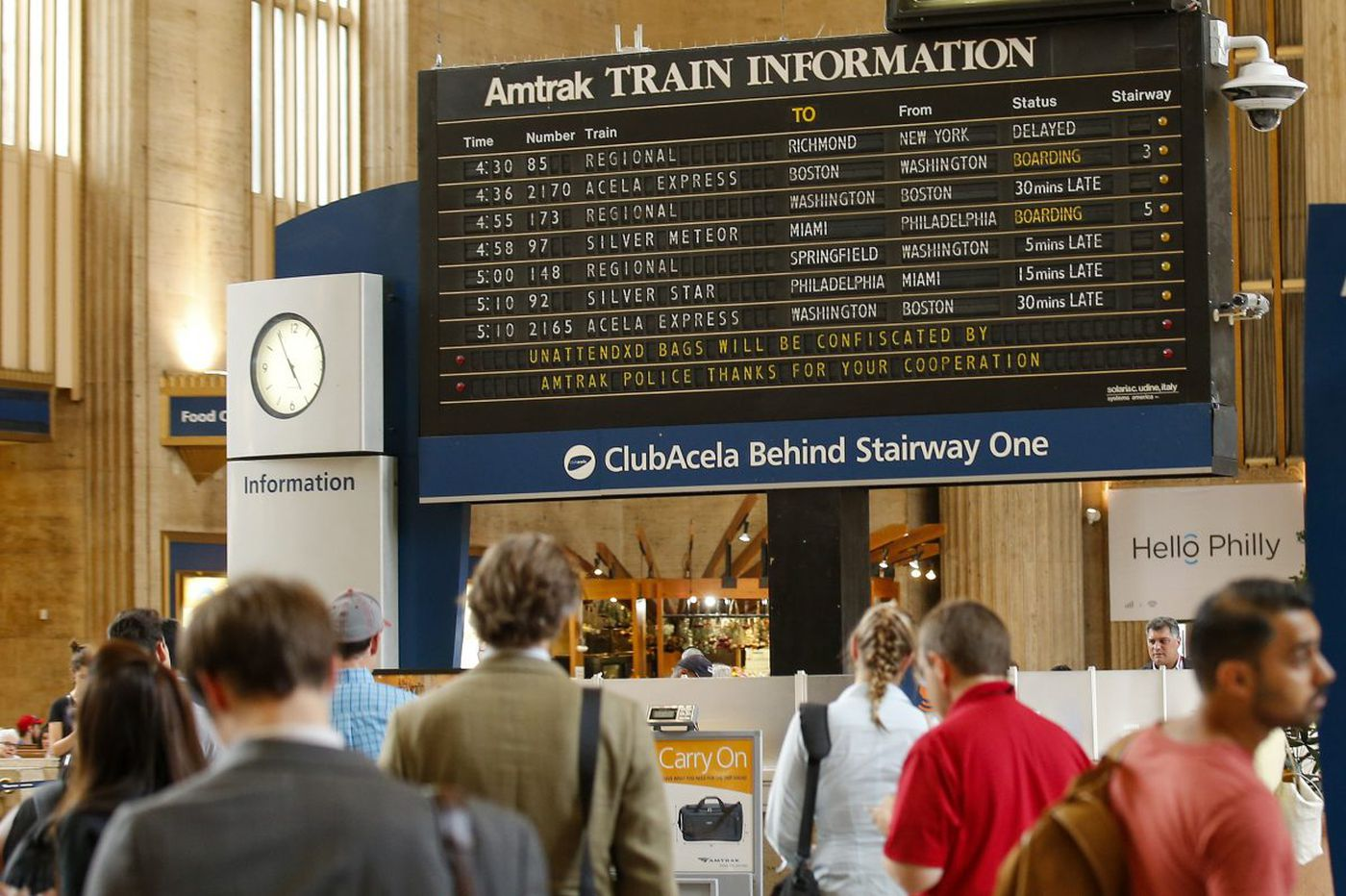 30th Street Station security failures pose risk to passengers, Amtrak finds
