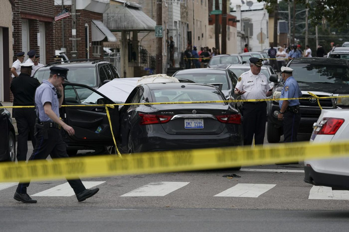 Police fatally shoot man in Tacony; 3 officers injured