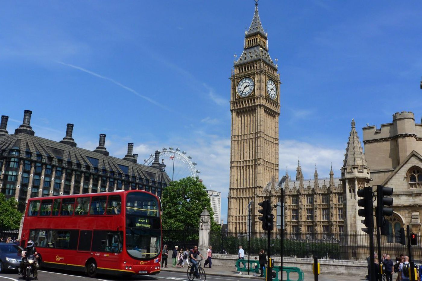 Field-tested travel tip: Calling on London