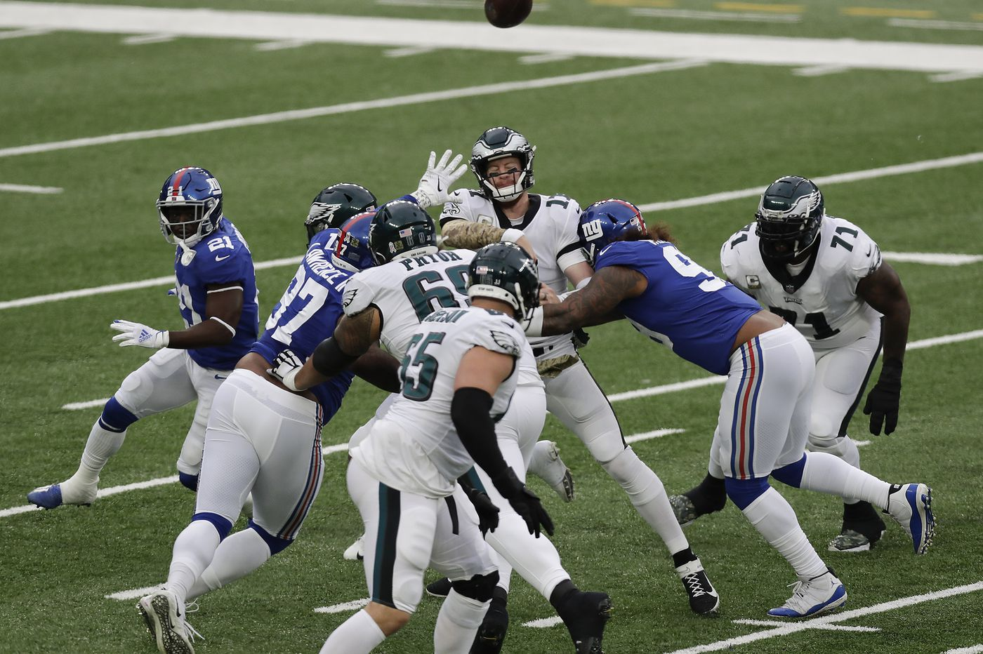 Making sense of the Eagles' loss to the Giants using advanced stats | Early Birds