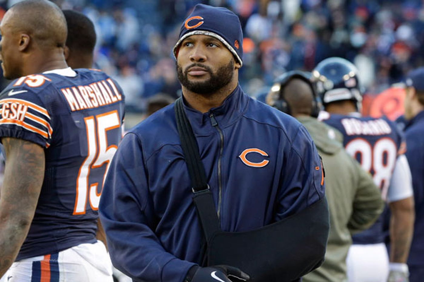 Bears' Briggs anxious to play against Eagles
