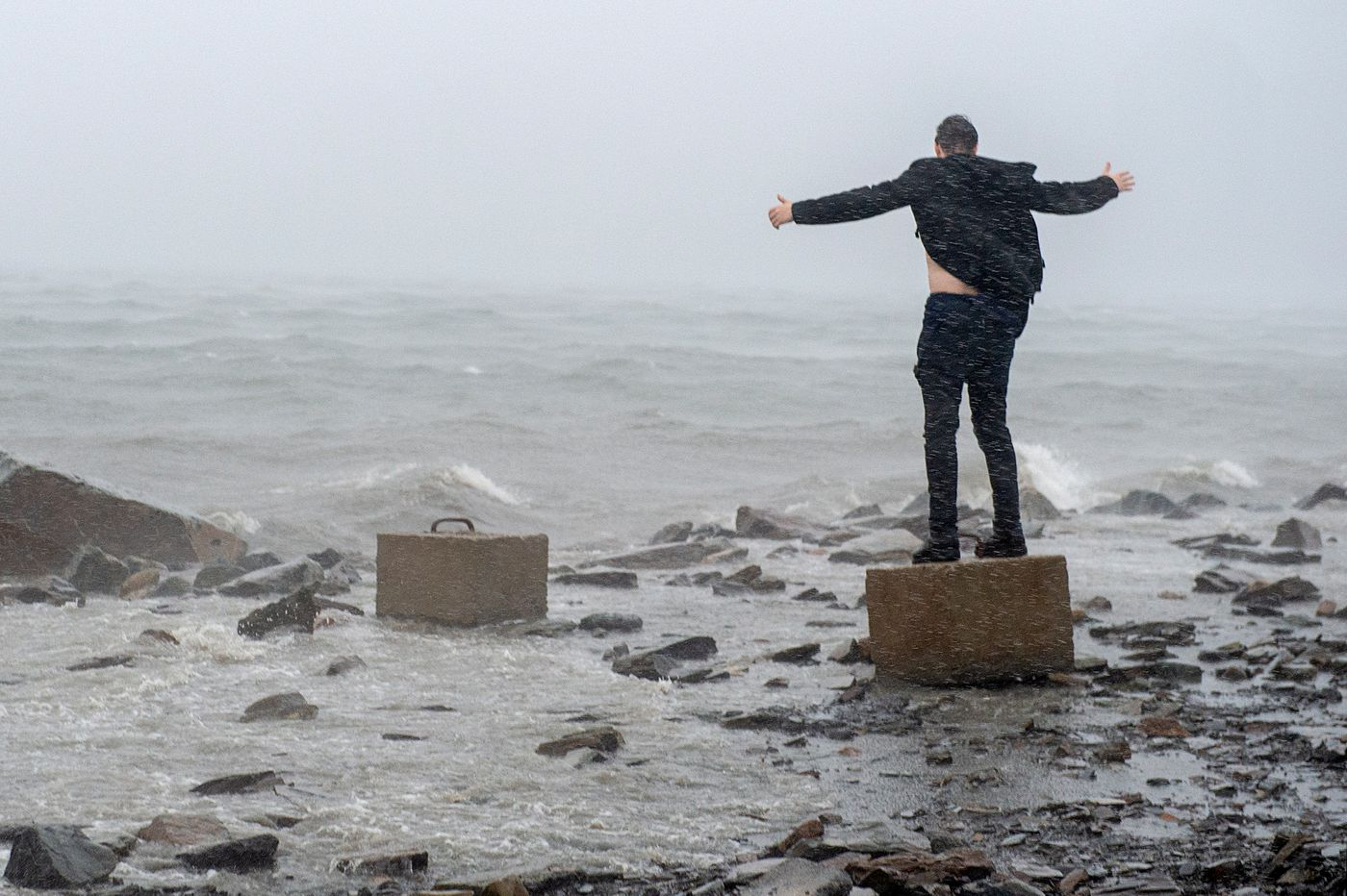 Dorian topples crane, knocks out power in eastern Canada
