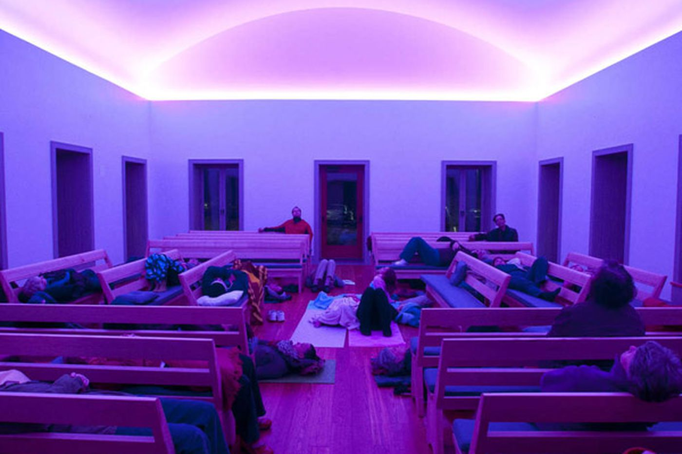Changing Skyline: Art installation transforms Chestnut Hill meetinghouse