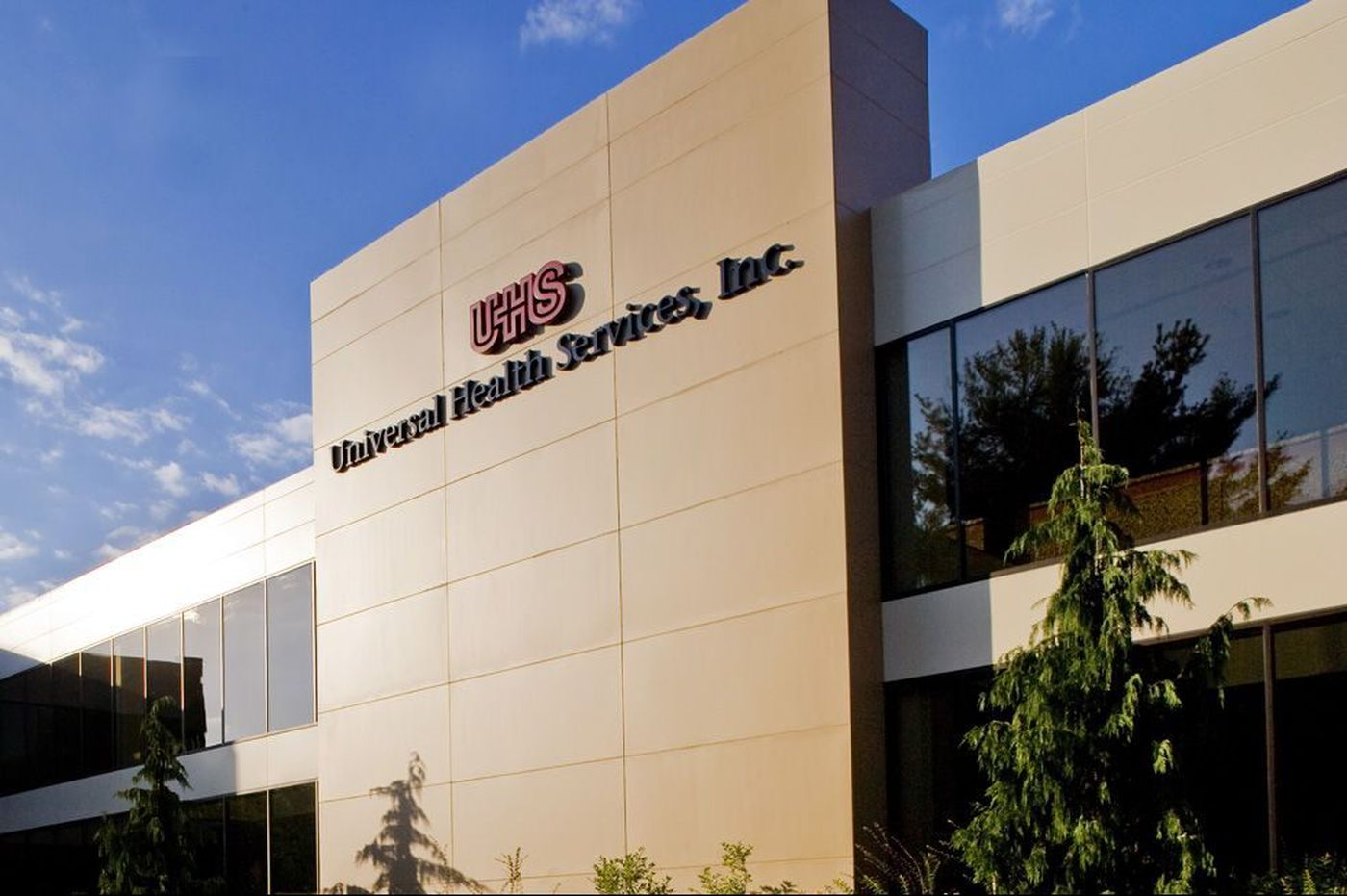Universal Health Services shares down sharply on earnings