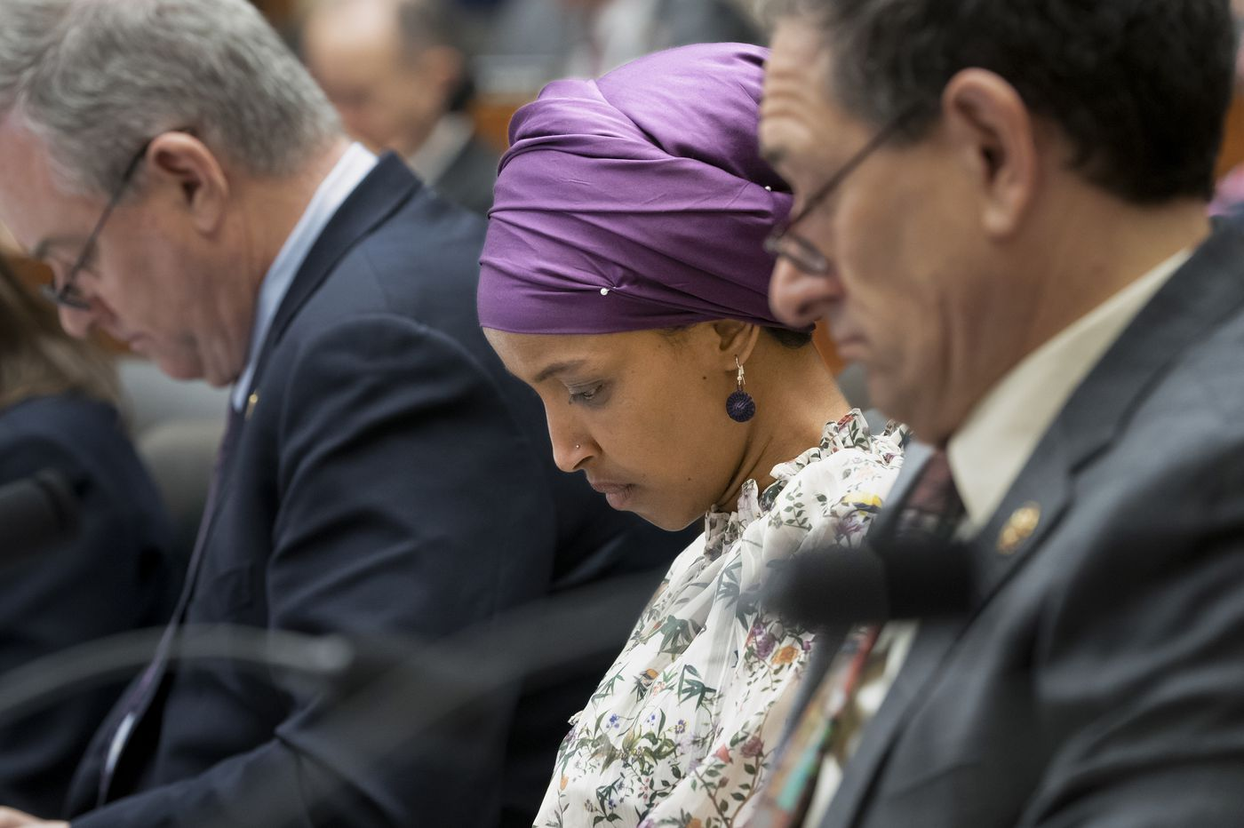 Democrats split over resolution condemning anti-Semitism aimed at newcomer Ilhan Omar