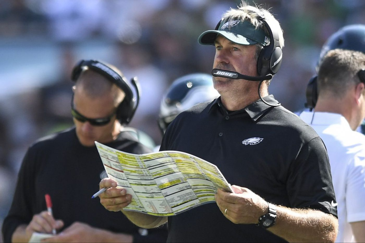Doug Pederson's fourth-down aggressiveness has Lurie's support | Jeff McLane