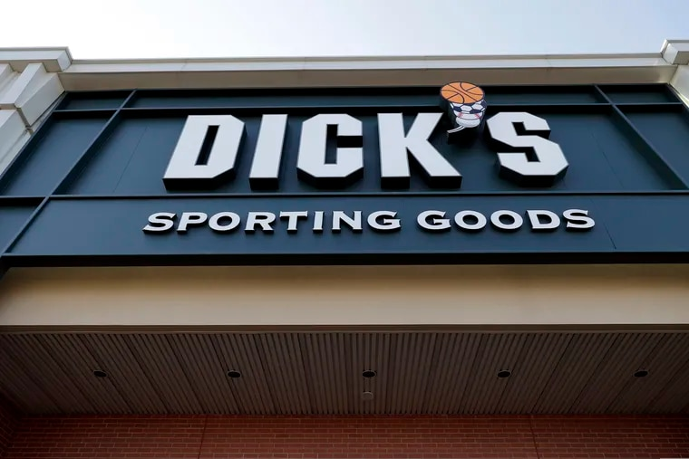 Dick's Sporting Goods Inc. stopped selling hunting rifles and ammunition at 125 of its stores.