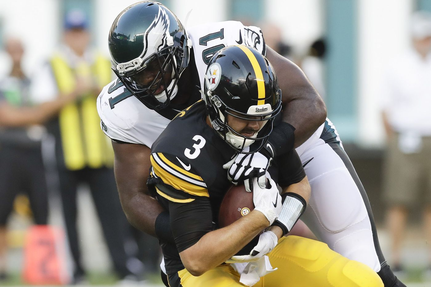 Steelers 31, Eagles 14: Fletcher Cox, first-team defense have strong showing in first preseason game