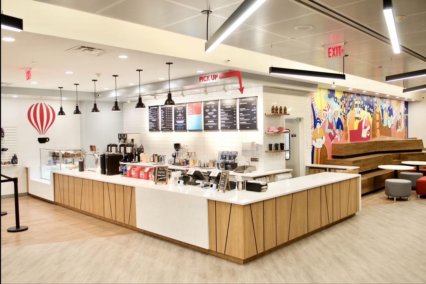 At Penn State, Saxbys opens its 7th student-run coffee shop