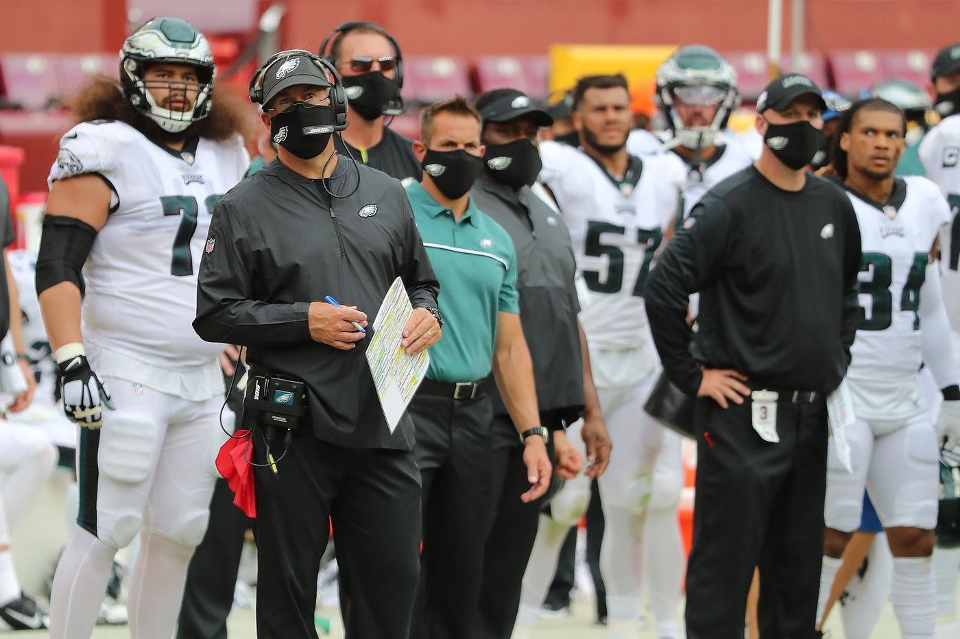 Doug Pederson says sacks, mistakes in Eagles' loss to Washington 'can't happen'