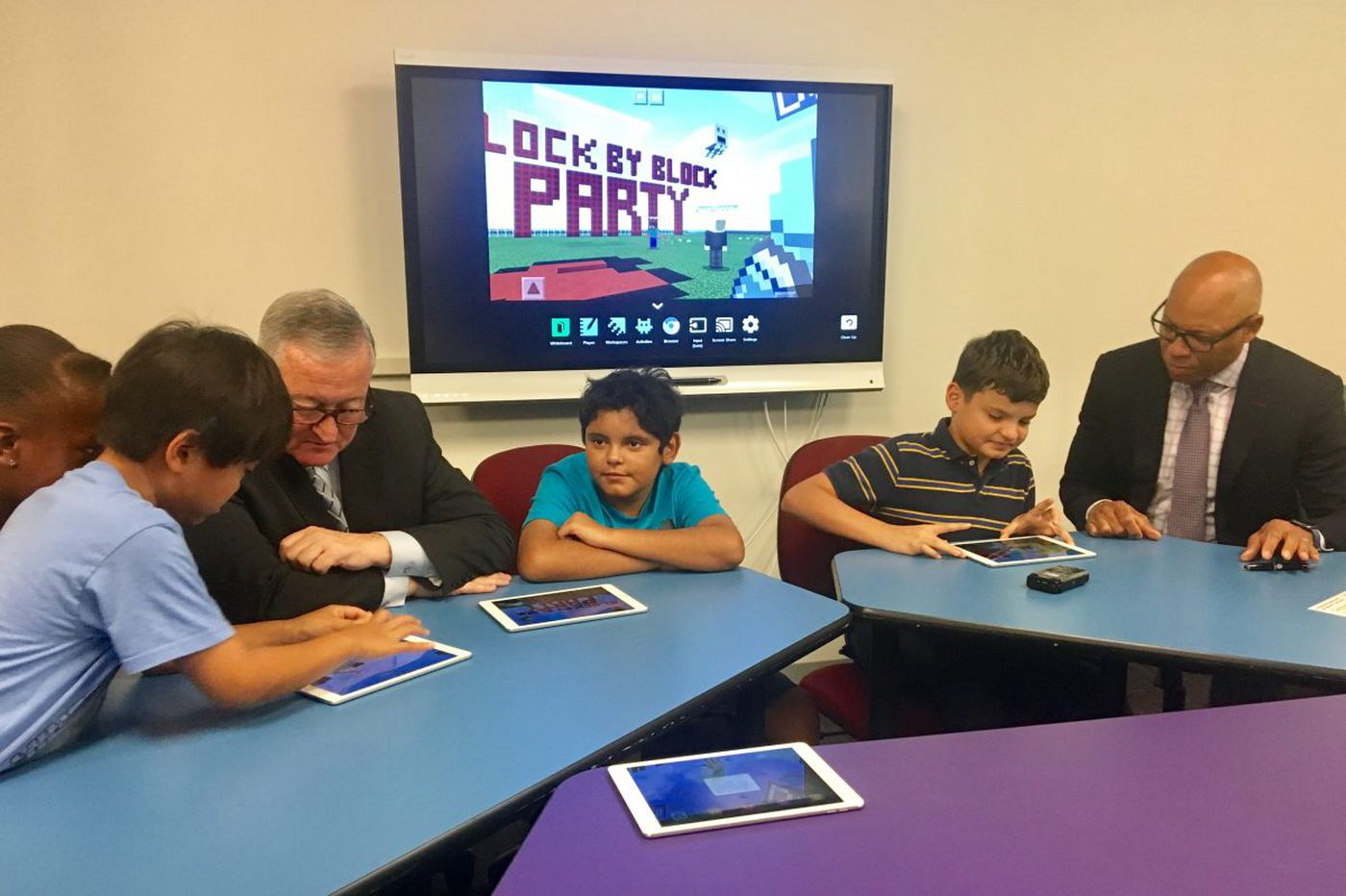 Kenney, Hite announce Block by Block Party with Minecraft