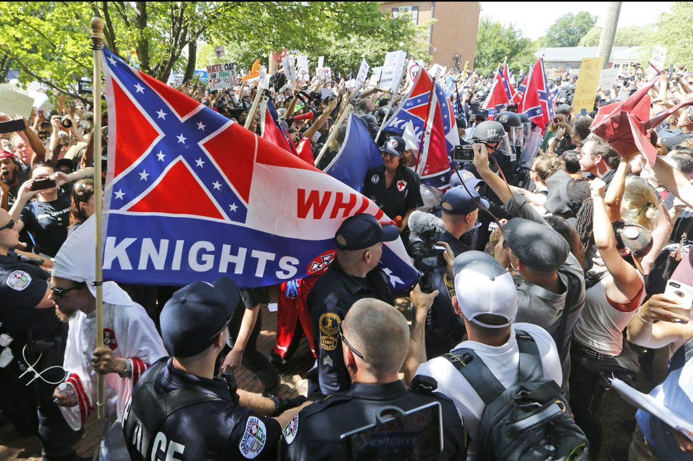 What drives white nationalists? Love.   Opinion