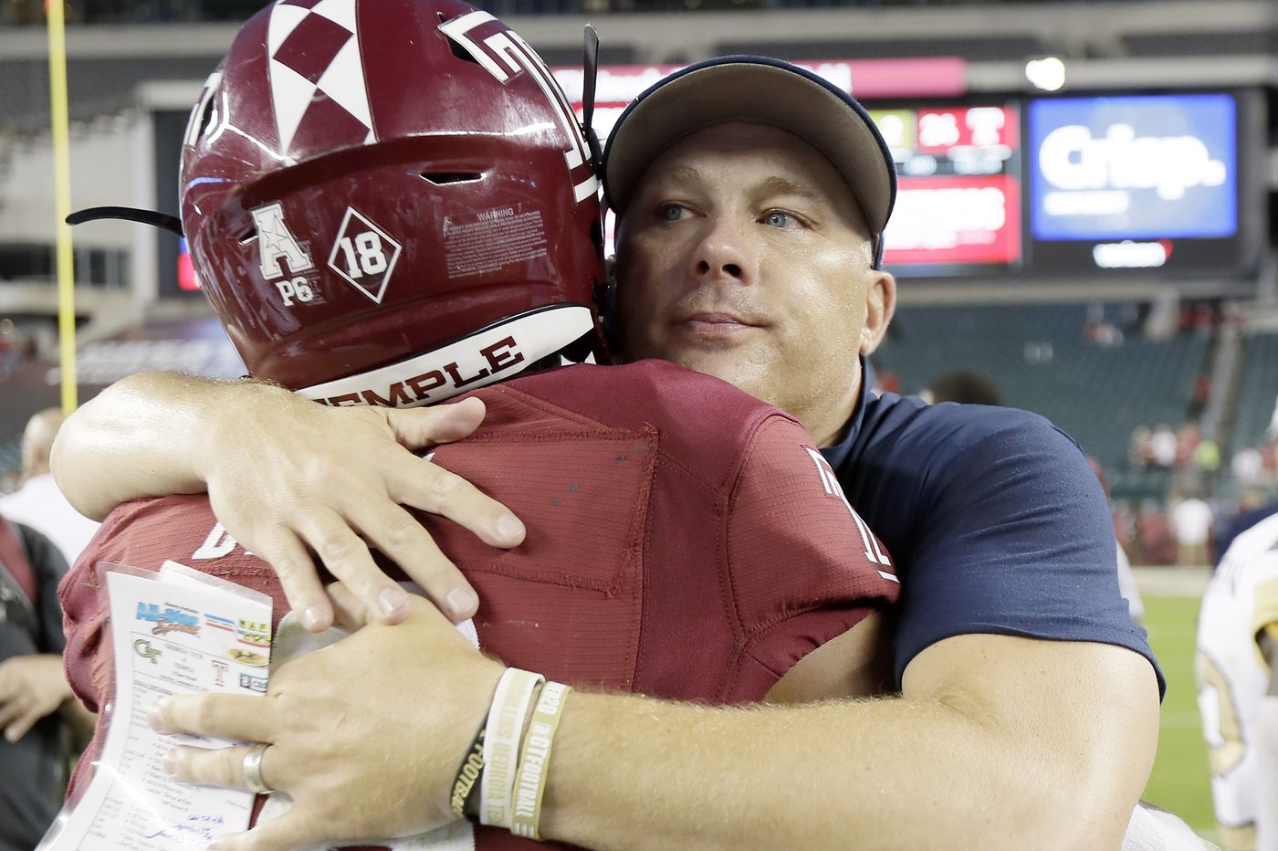 Temple football notes: Emotional game for former Owls coach Geoff Collins
