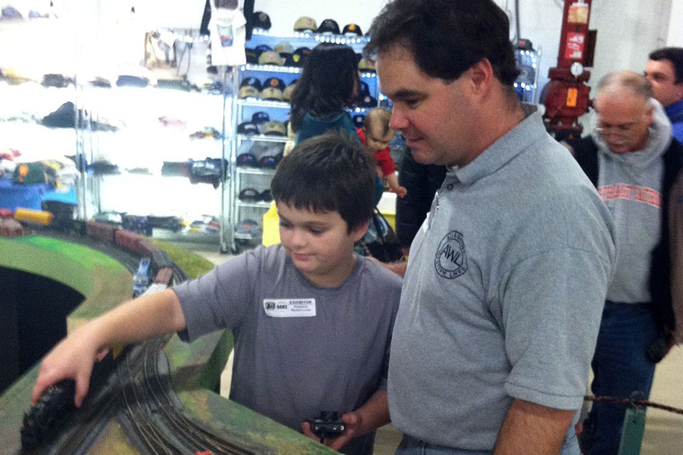Generations of train enthusiasts enjoy Greenberg's Great Train & Toy Show