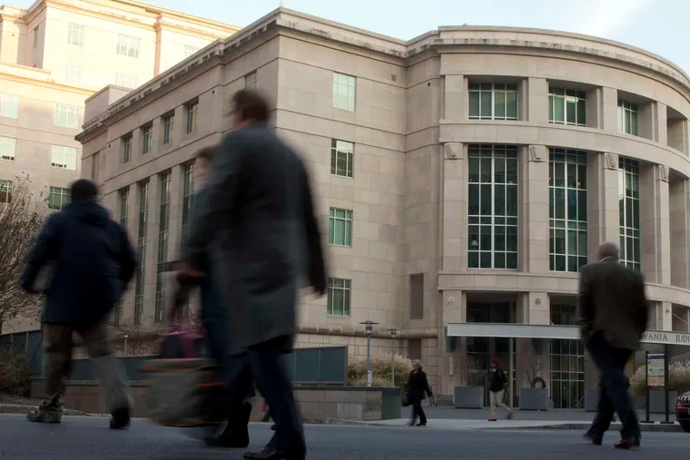 The Pennsylvania Judicial Center in Harrisburg, which houses the state Supreme Court.