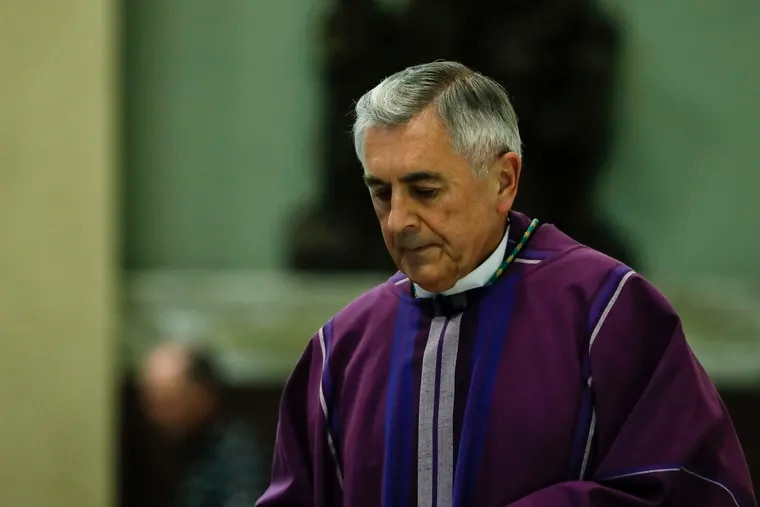 Bishop Ronald W. Gainer, pictured here in a 2018 file photo, announced Wednesday his diocese would become the first in Pennsylvania to seek federal bankruptcy protection in the face of potentially crushing court judgments stemming from clergy sex abuse.