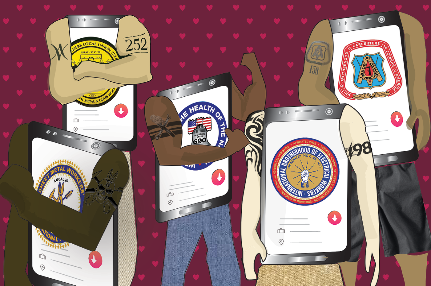 Name, age, and Local 19: Why Philly men list their unions on Tinder