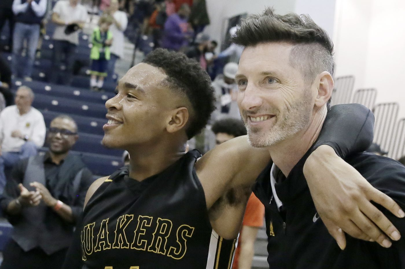 Moorestown's Shawn Anstey is the South Jersey boys' basketball coach of the year