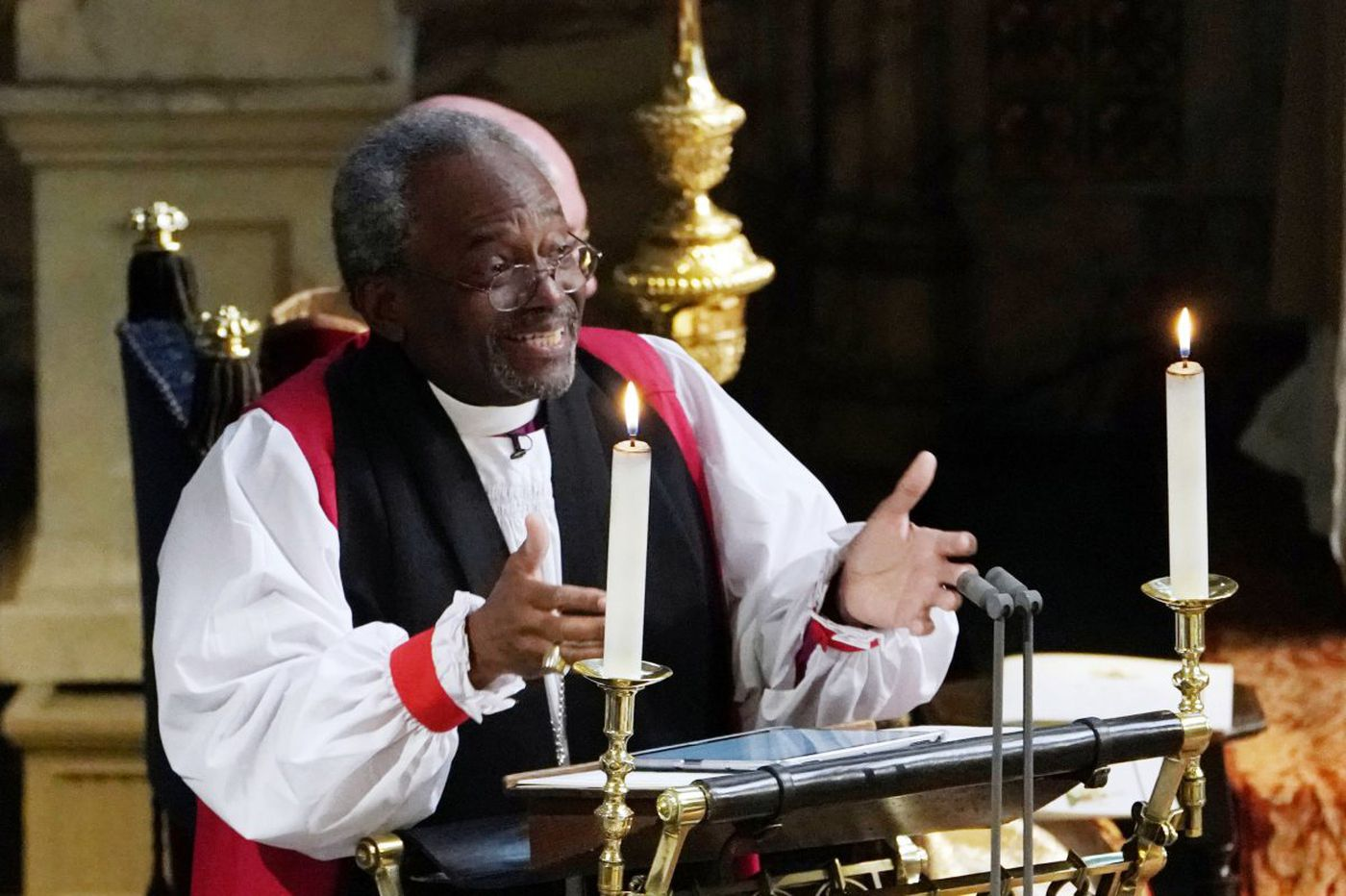 'That was a black church sermon': Rev. Michael Curry brings passion to the Church of England