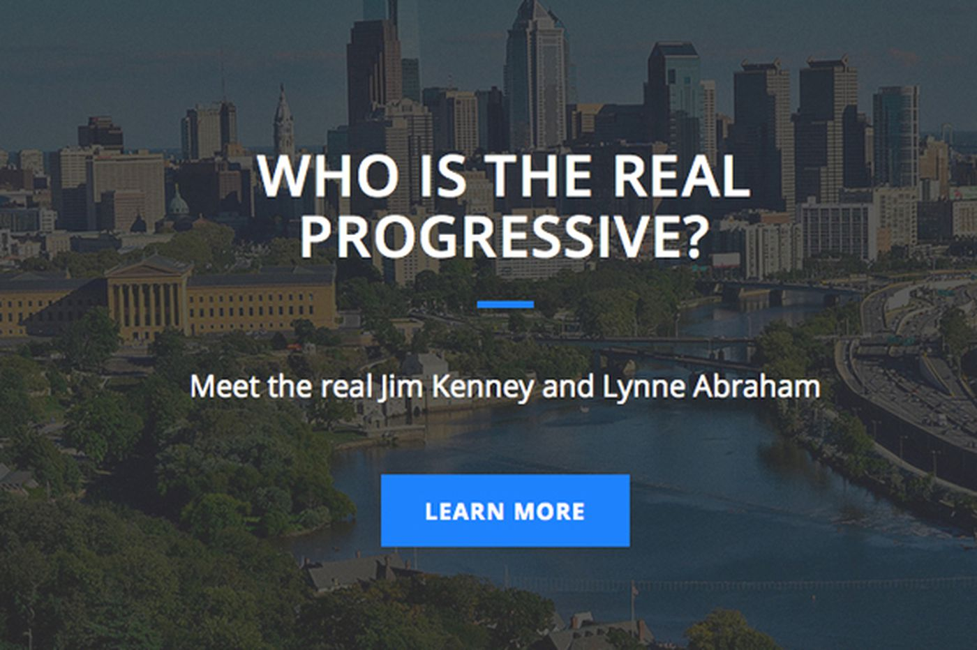 New website by Williams campaign takes shots at Kenney, Abraham