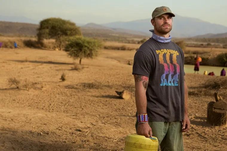 Chris Long in Tanzania