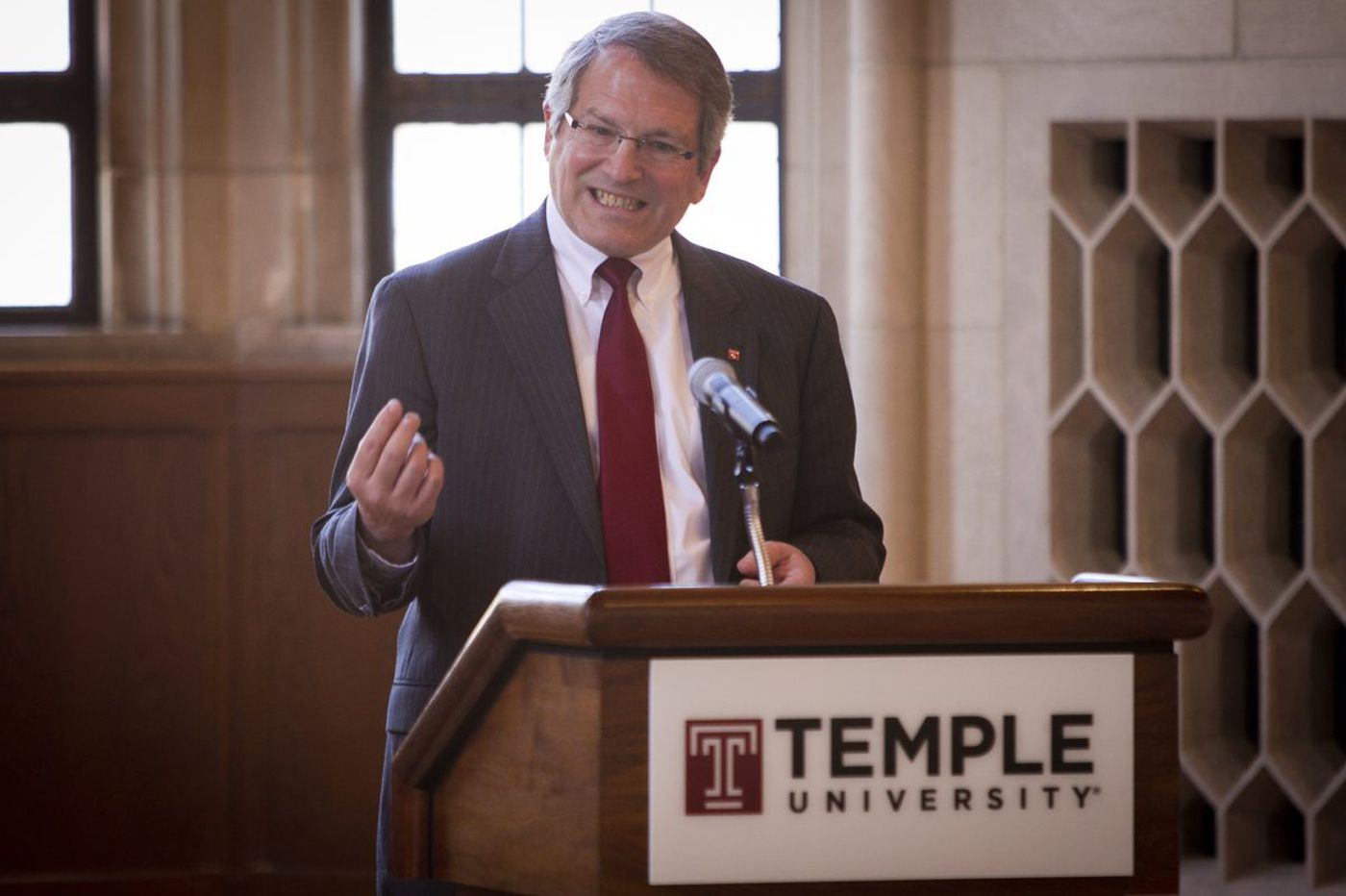Former Temple president takes job at University of Wyoming