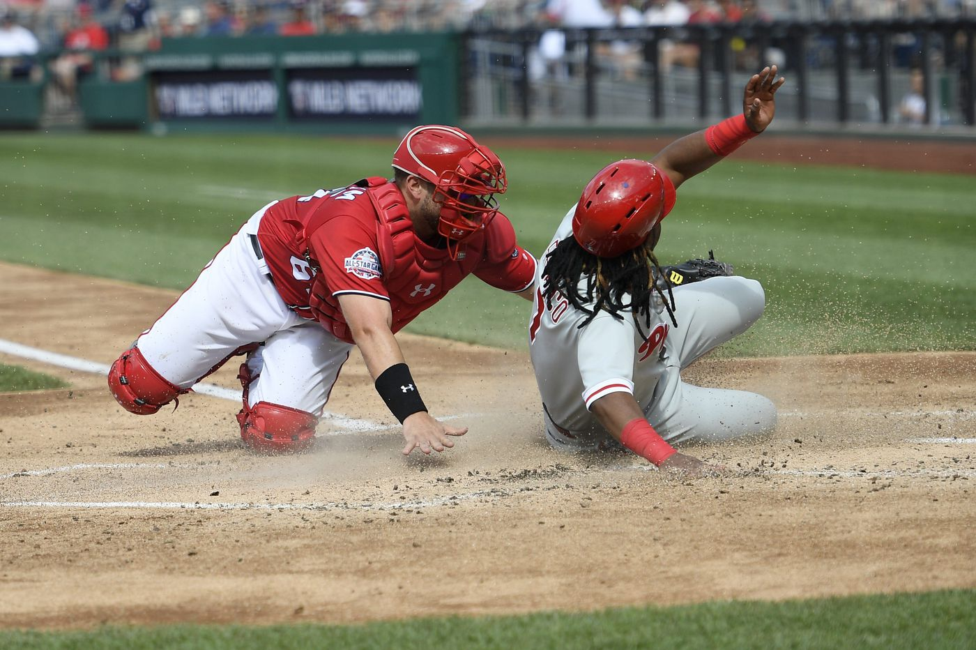 Maikel Franco's four-hit game propels Phillies win over Nationals