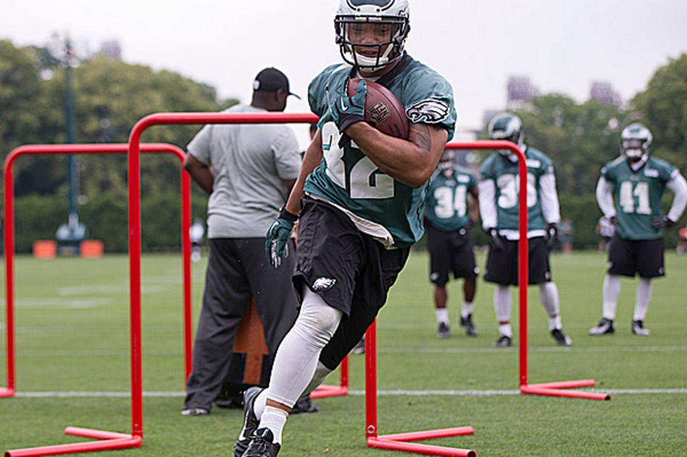 Eagles Notes: Injured Polk still has an eye on Eagles roster spot